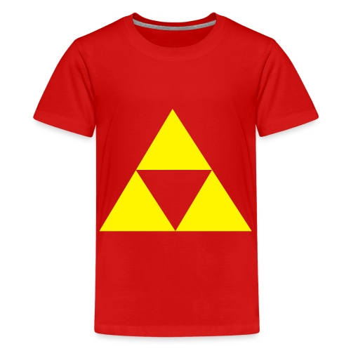 Triforce - T-shirt Premium Ado