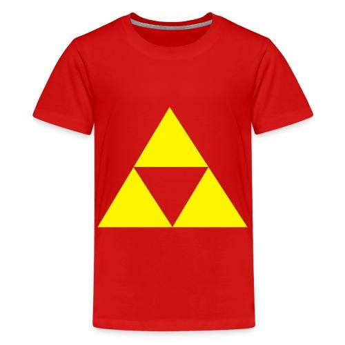 Triforce - T-shirt Premium Ado