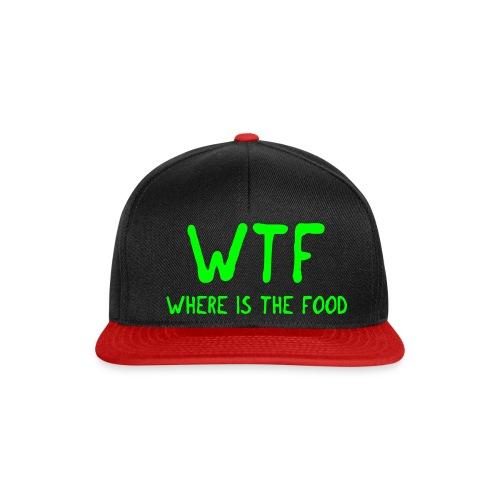 Czapeczka WTF - Czapka typu snapback