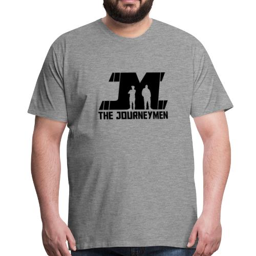 Men's - The JourneyMen Black Logo Tee - Men's Premium T-Shirt