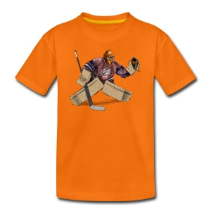 Eishockey Torwart T-Shirts - Teenager Premium T-Shirt