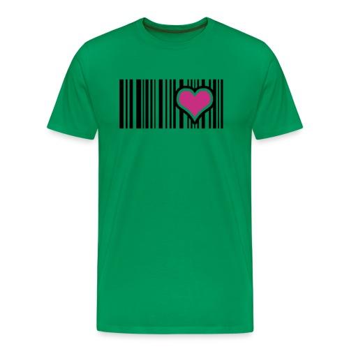 LOVE IS TRUE - Männer Premium T-Shirt