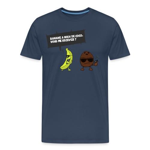 T-SHIRT BANANE A NOIX DE COCO ! - T-shirt Premium Homme