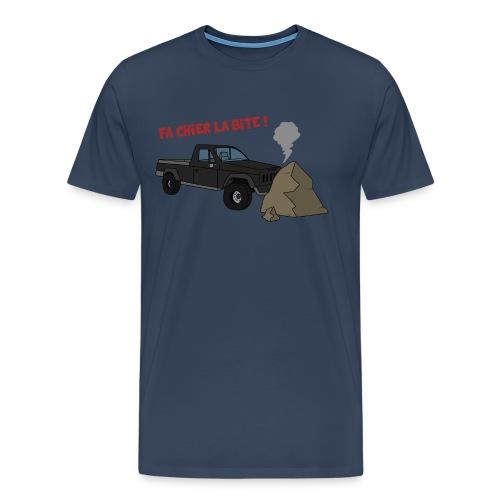 T-SHIRT FA CHIER  ! - T-shirt Premium Homme