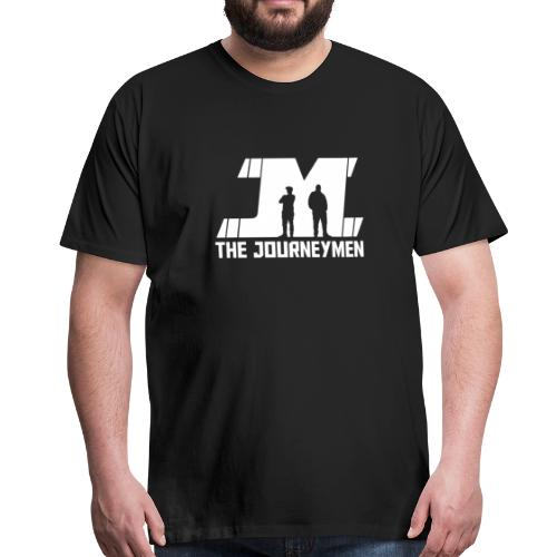 Men's - The JourneyMen White Logo Tee - Men's Premium T-Shirt