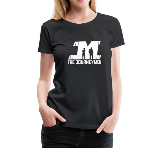 Ladies - The JourneyMen White Logo Tee - Women's Premium T-Shirt