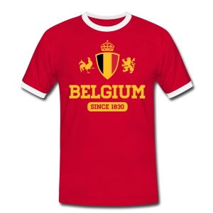 Belgium  since 1830 - Mannen contrastshirt