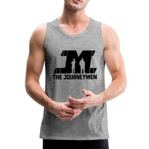 Mens - The JourneyMen Tank Top ( Black ) - Men's Premium Tank Top