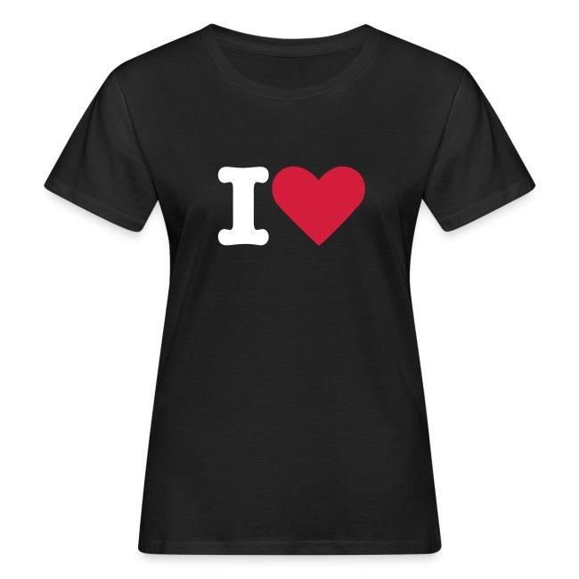 T-shirt Dam I Love ECOday