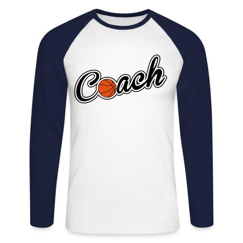 Maglia da Baseball Uomo Coach - Maglia da baseball a manica lunga da uomo