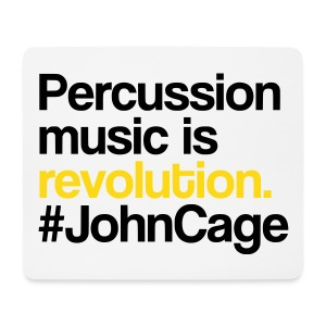 John Cage - Mousepad - Mousepad (Querformat)