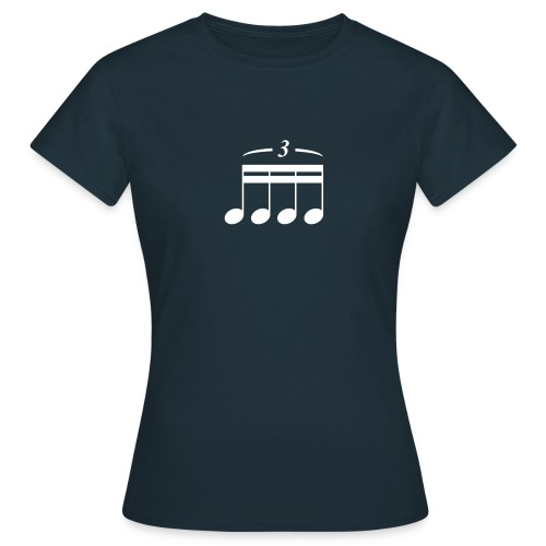 Triole? Quartole??? Shirt (Damen) - Frauen T-Shirt