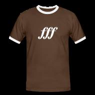 T-Shirts ~ Männer Kontrast-T-Shirt ~ fff - Fortississimo Shirt (Herren)