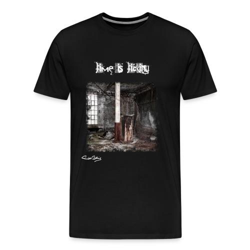 time is ticking - Männer Premium T-Shirt