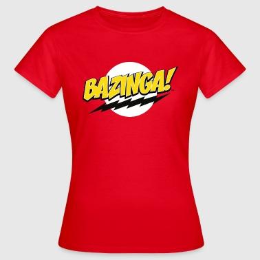 The Big Bang Theory Bazinga! Femme Tee Shirt - T-shirt Femme