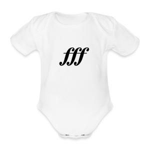 fff - Fortississimo Strampler - Baby Bio-Kurzarm-Body