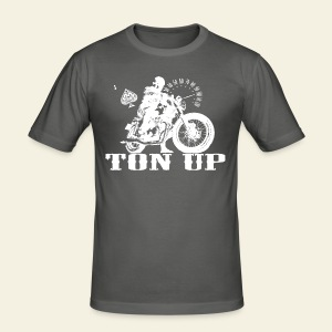Ton Up white  - Herre Slim Fit T-Shirt