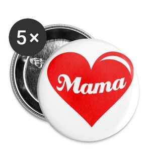 Button klein Mama - Buttons klein 25 mm