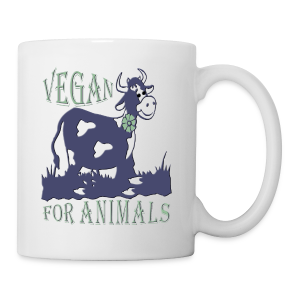 VEGAN FOR ANIMALS - Tasse