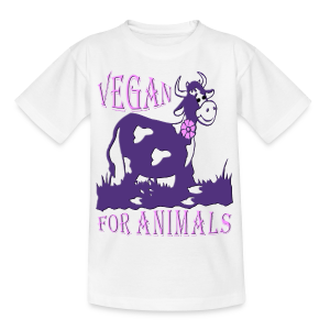 VEGAN FOR ANIMALS - Teenager T-Shirt