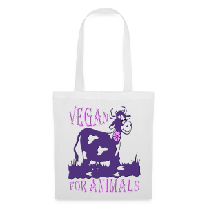 VEGAN FOR ANIMALS - Stoffbeutel