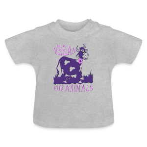 VEGAN FOR ANIMALS - Baby T-Shirt
