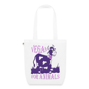 VEGAN FOR ANIMALS - Bio-Stoffbeutel