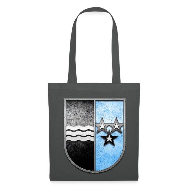 Schweiz Aargau Wappen in Stein gemeißelt