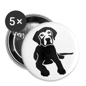 DOG BUTTON - Buttons groß 56 mm