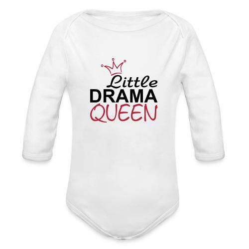 Drama Queen - Baby Bio-Langarm-Body