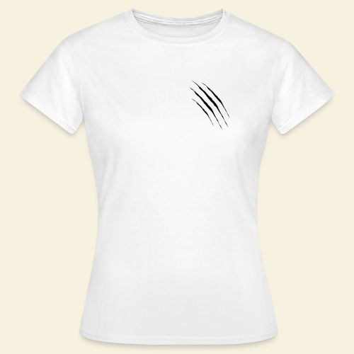 Normalität ist anders und Kratzer vorne - Frauen T-Shirt