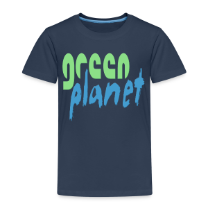 GREEN PLANET - Kinder Premium T-Shirt