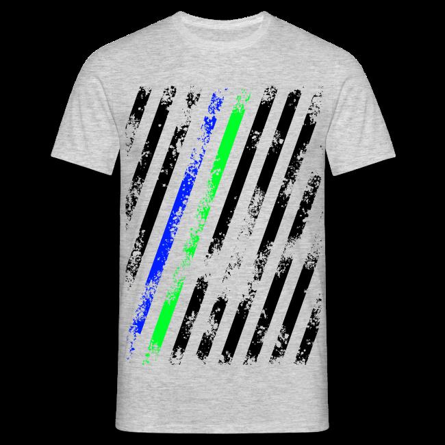 Stripes blue/green