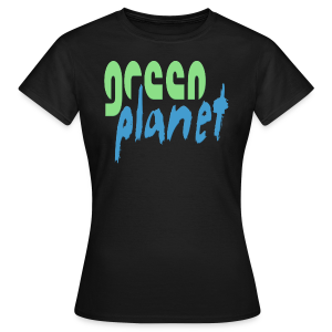 GREEN PLANET - Frauen T-Shirt