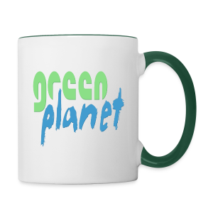 GREEN PLANET - Tasse zweifarbig