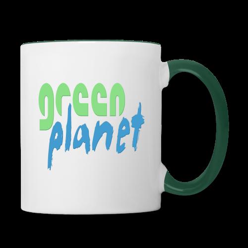 GREEN PLANET - Tasse zweifarbig