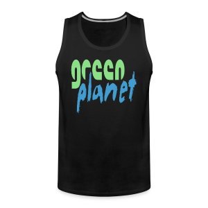 GREEN PLANET - Männer Premium Tank Top