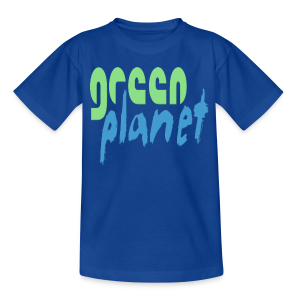 GREEN PLANET - Teenager T-Shirt