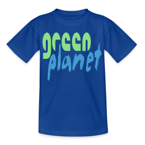GREEN PLANET - Kinder T-Shirt