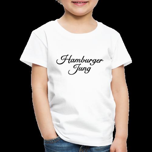 Hamburger Jung Classic (Schwarz) Kinder T-Shirt - Kinder Premium T-Shirt