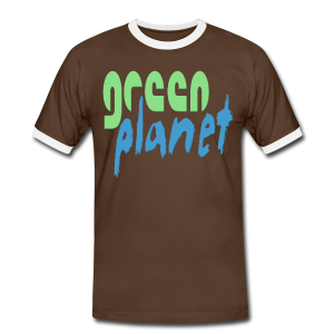 GREEN PLANET - Männer Kontrast-T-Shirt