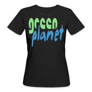 GREEN PLANET - Frauen Bio-T-Shirt