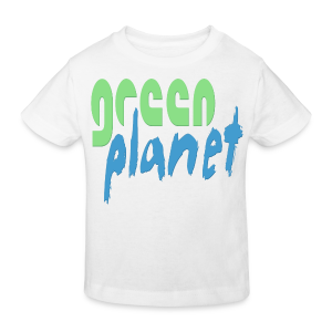 GREEN PLANET - Kinder Bio-T-Shirt