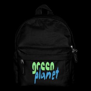 GREEN PLANET - Kinder Rucksack