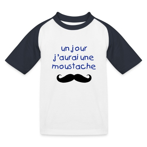 moustache kids - T-shirt baseball Enfant