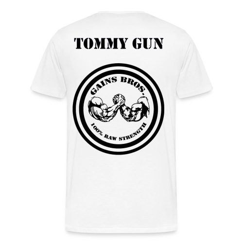 TG plainB - Men's Premium T-Shirt