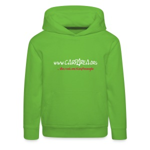 KINDER www.carparea.org Hooded Sweat mit Logo (in Farbe) - Kinder Premium Hoodie