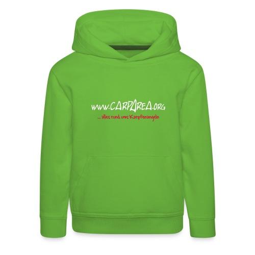 KINDER www.carparea.org Hooded Sweat mit Logo (in Farbe) - Kinder Premium Hoodie