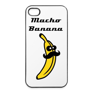 Iphone 4/4s  Macho Banana Cover - iPhone 4/4s Hard Case