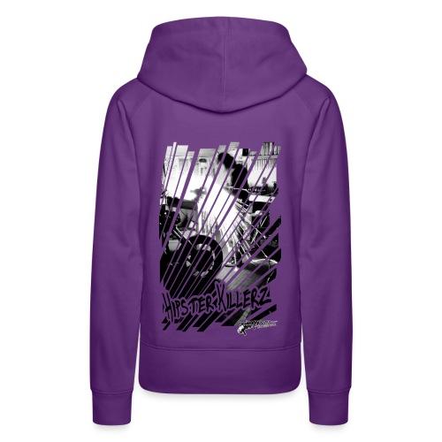 Hipster Killerz - Sweat-shirt à capuche Premium pour femmes